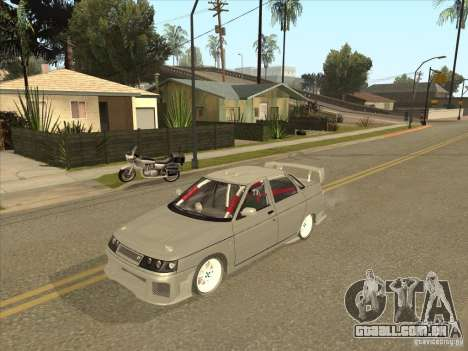 LADA 21103 Street Tuning v 1.0 para GTA San Andreas vista traseira
