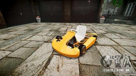 Karting para GTA 4 vista direita