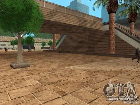 Novo centro comercial de texturas para GTA San Andreas terceira tela