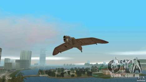 The Valley Gunship para GTA Vice City