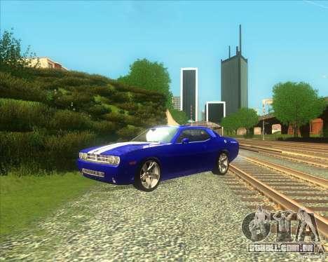 Dodge Challenger concept para GTA San Andreas