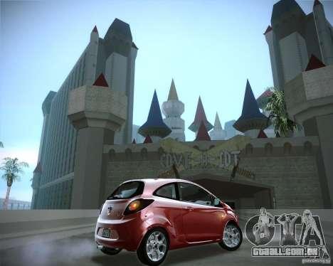 Ford Ka 2011 para GTA San Andreas vista direita