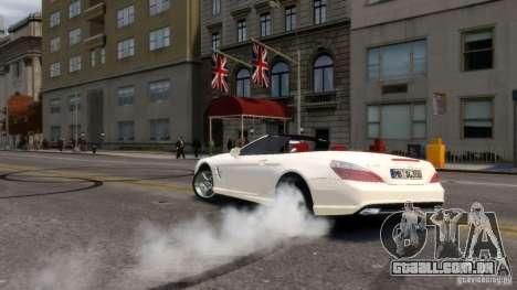Mercedes-Benz SL 350 2013 v1.0 para GTA 4 vista de volta