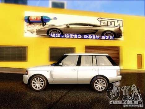 Land-Rover Range Rover Supercharged Series III para GTA San Andreas esquerda vista