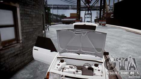 VAZ 21083i para GTA 4 vista interior