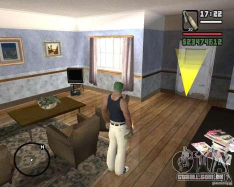 Coquetel Molotov de Mafia 2 para GTA San Andreas segunda tela