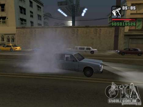 New Realistic Effects para GTA San Andreas décimo tela