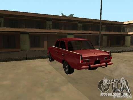 IE AZLK 412 para GTA San Andreas vista direita