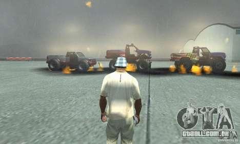 A bomba atômica para GTA San Andreas por diante tela