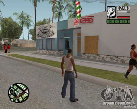 Loja Ecko para GTA San Andreas segunda tela
