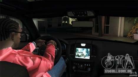 Chrysler 300C V8 Hemi Sedan 2011 para GTA San Andreas vista traseira