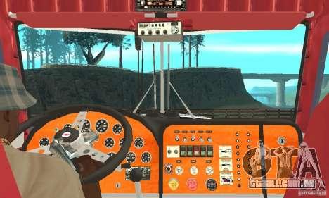 Peterbilt 359 para GTA San Andreas vista direita
