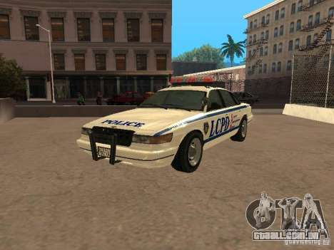 A polícia de GTA4 para GTA San Andreas