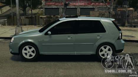 Volkswagen Golf Sportline 2011 para GTA 4 esquerda vista