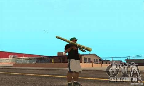 WEAPON BY SWORD para GTA San Andreas sétima tela