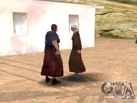 Renovação da aldeia de Al-Kebrados v 1.0 para GTA San Andreas por diante tela