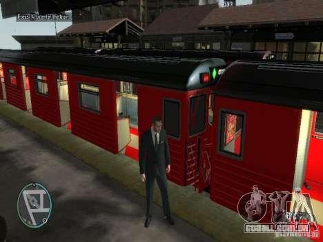Redbird trem v 1.0 para GTA 4 segundo screenshot