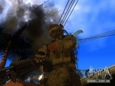 A metralhadora de M60E4 para GTA San Andreas segunda tela