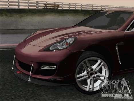 Porsche Panamera Turbo 2010 para o motor de GTA San Andreas
