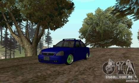 LADA 2170 JDM para GTA San Andreas