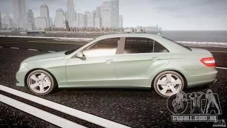 Mercedes-Benz E63 2010 AMG v.1.0 para GTA 4 esquerda vista