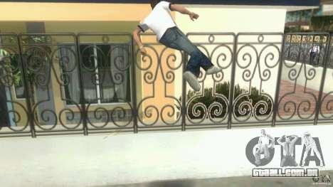 Cleo Parkour for Vice City para GTA Vice City sétima tela