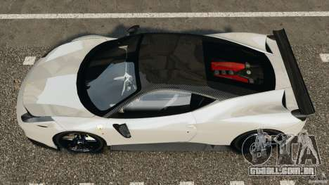 Ferrari 458 Italia 2010 [Key Edition] v1.0 para GTA 4 vista direita