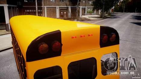 School Bus [Beta] para GTA 4 motor