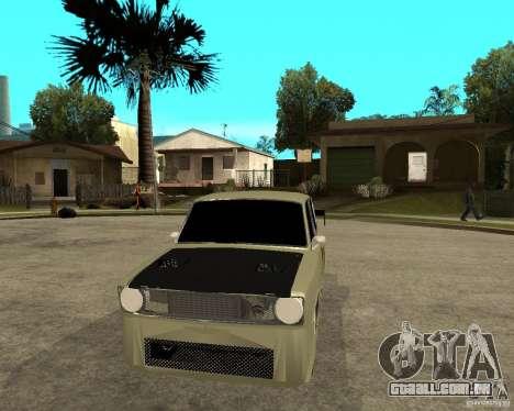 Vaz 2101 D-LUXE para GTA San Andreas vista traseira
