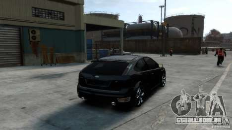 Ford Focus para GTA 4 esquerda vista