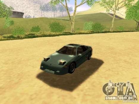 Pontiac Fiero V8 para o motor de GTA San Andreas