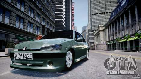 Peugeot 106 Quicksilver para GTA 4