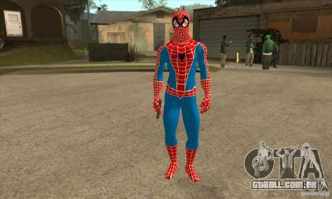 Spider Man From Movie para GTA San Andreas segunda tela