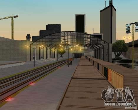 Nova estação ferroviária para GTA San Andreas nono tela