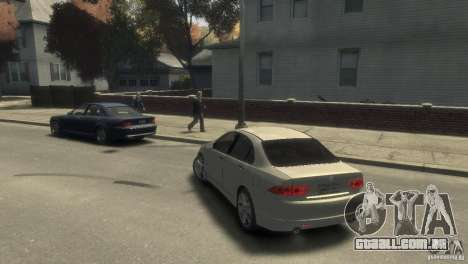 Honda Accord Type-S 2003 para GTA 4 esquerda vista