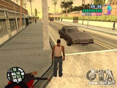 Vice City Hud para GTA San Andreas terceira tela