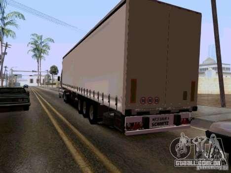 Kenworth T2000 v.2 para GTA San Andreas vista traseira