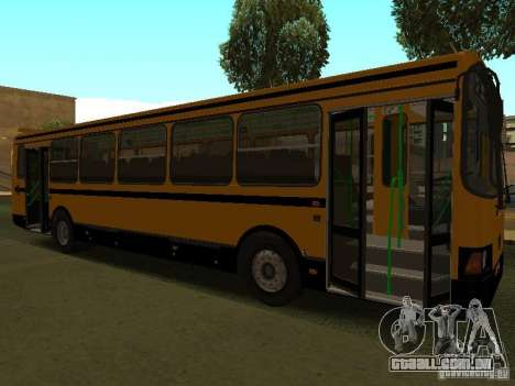 LIAZ 5256.26-01 para GTA San Andreas vista direita
