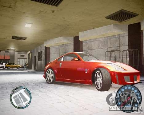 Nissan 350Z Z33 para GTA 4 esquerda vista