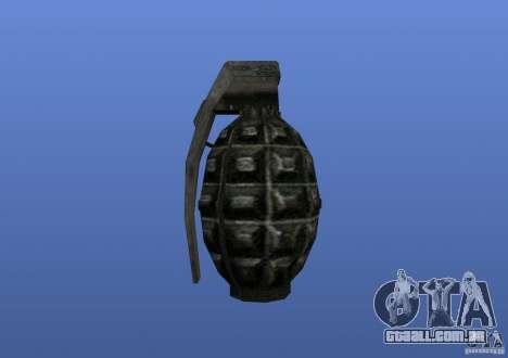 Grenade para GTA 4 terceira tela