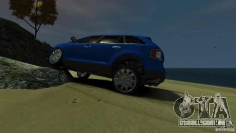 Ford Edge 2007 para GTA 4 esquerda vista