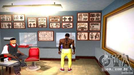 Três nova tatuagem para GTA San Andreas décimo tela