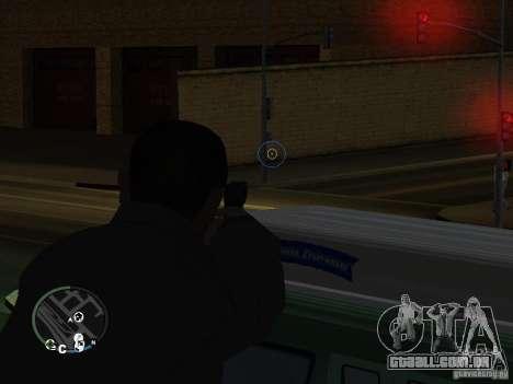 HUD e as armas de GTA IV para GTA San Andreas segunda tela
