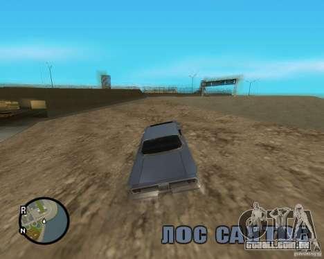 Detailed Map and Radar Mod para GTA San Andreas quinto tela