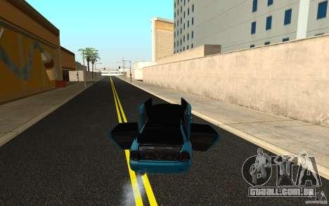 LADA 2170 Penza tuning para GTA San Andreas vista interior