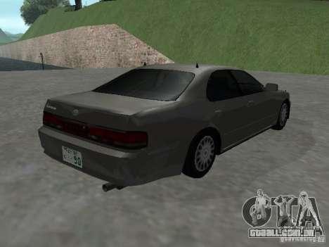 Toyota Cresta JZX 90 para GTA San Andreas traseira esquerda vista