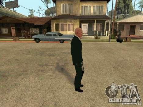 Hitman: Codename 47 para GTA San Andreas segunda tela