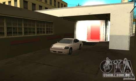 Lavagem de carro para GTA San Andreas segunda tela