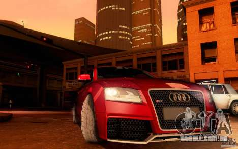 Audi RS5 para vista lateral GTA San Andreas