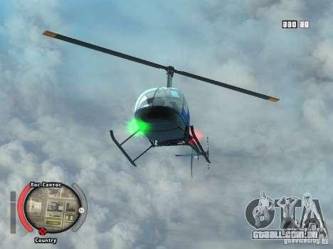 New HUD by shama123 para GTA San Andreas por diante tela